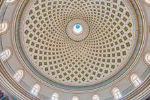 Church Rotunda Of Mosta, Malta