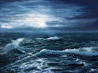 FototapetaOcean waves