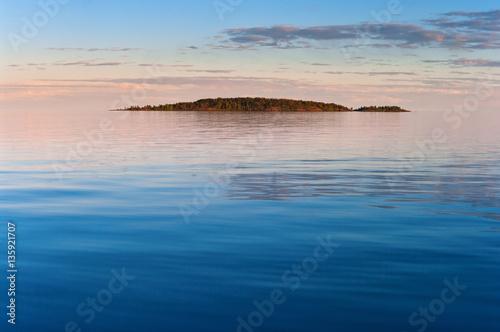 Fotografie, Obraz  Lonely stone island