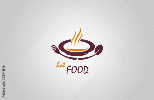 Restaurant Hot Food Logo Buy This Stock Vector And Explore