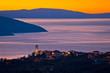 Brsec village skyline at dawn