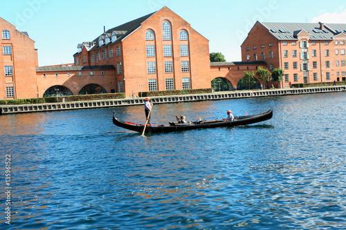 Photo Venice in Copenhagen, Denmark. Old Town of Copenhagen.