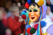 Wooden Carnival Masks