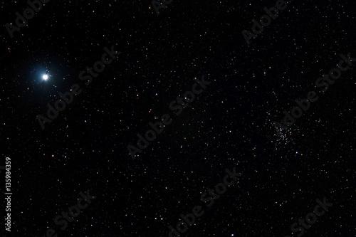 Papel de parede Sirius & Messier 41