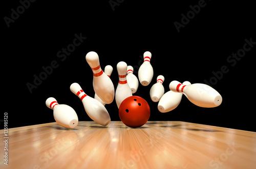 Carta da parati Bowling