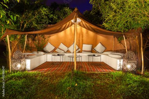 Fotografía  Arabic tent