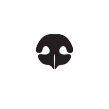 Dog's Nose Icon. Element Of Lo...