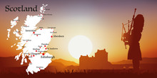 Ecosse - Tourisme - Carte - Co...