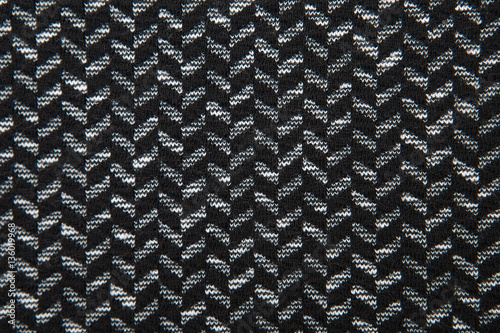 Photo  herringbone fabric pattern texture background closeup