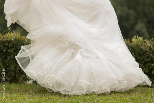 свадебное платье Fototapet