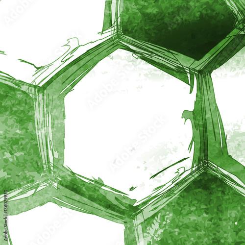 Football soccer ball easy all editable © hubis3d