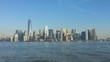 New York Skyline from Liberty Island
