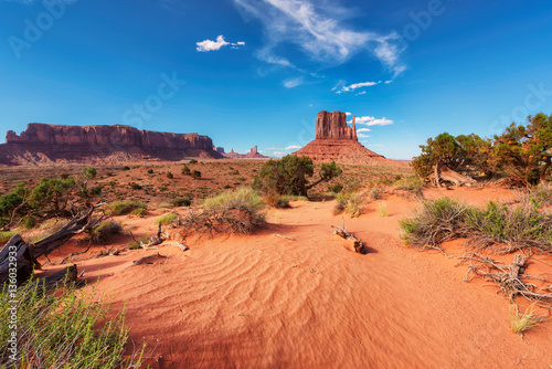 Poster de jardin Corail Monument Valley, Arizona, United States.