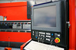 CNC press brake machine - control panel