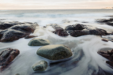 Obraz Water and rocks