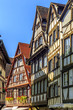 Traditional half-timbered houses in historic area Strasbourg, Fr