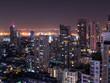 Cityscape Night light 5