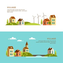 Village. Small Town. Rural And...