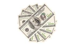 Hundred Dollars Banknotes Fann...