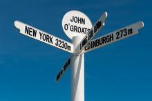 John O Groats Sign