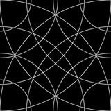 Siatka komórkowa, wzór siatki z okręgami od środka (powtarzalne - 136085763