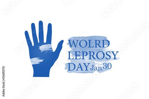 Fotomural World leprosy day