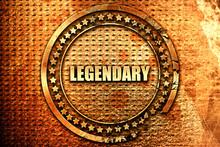 Legendary, 3D Rendering, Text ...