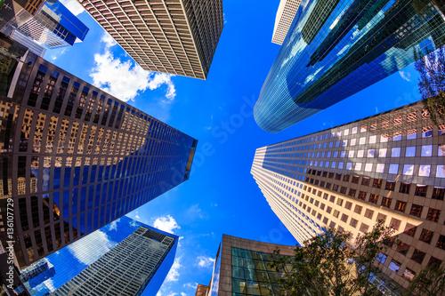 Fotografía Modern downtown skyscrapers