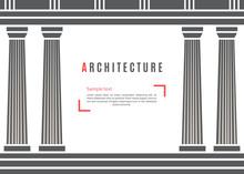 Architecture Greek Temple Back...