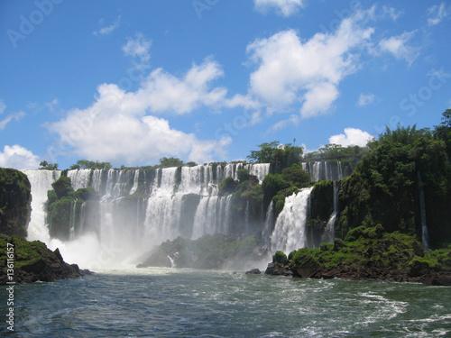 Fototapeten Wasserfalle Iguazu Falls Series