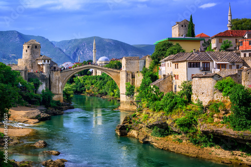Old Bridge Stari Most in Mostar, Bosnia and Herzegovina