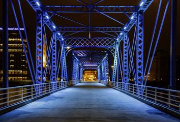 Fototapeta Mosty The Magical Blue Bridge