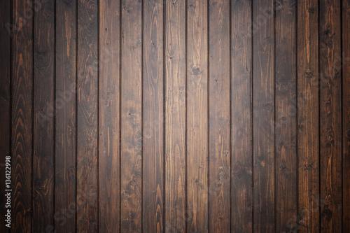 Fototapeta Black pine wood wall texture for background obraz na płótnie