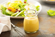 Homemade Honey Mustard Salad Dressing