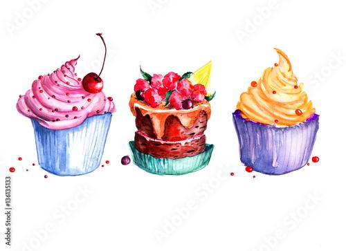 zestaw-ciastka-akwarelowe-torty-kremowe-ciasta-z-jagodami-ciasto-z-wisniam