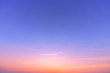 canvas print picture - sunset sky background