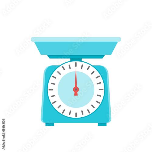 Obraz na płótnie kitchen scales