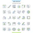 Website design icons