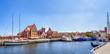 canvas print picture - Wismar, Alter Hafen
