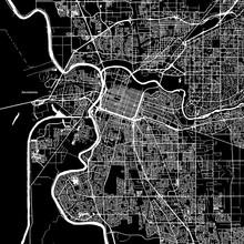 Sacramento, California, Vector...