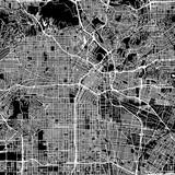 Los Angeles Vector Map - 136182305