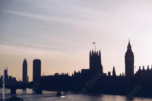 Foto op Canvas Londen London Skyline