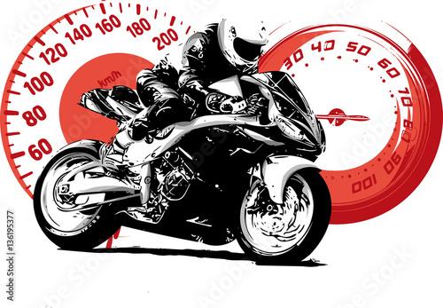Fotografía  moto