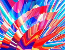Motley Colors Background. Vibrant Vector Graphics