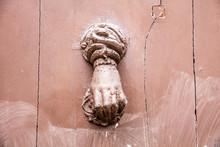 Detail, Old Metal Door Knocker...