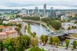Center of Vilnius, Lithuania