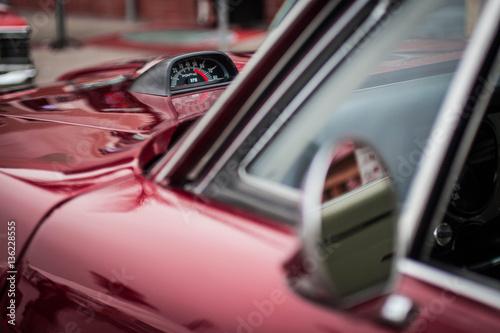 Slika na platnu Red GTO