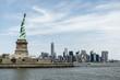Statue of Liberty New York Skyline Monument
