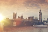 Fototapeta Londyn - London Big Ben Sunset