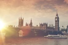 London Big Ben Sunset